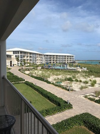 South Caicos: view from our room 2202