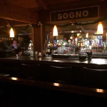 Poulsbo, WA: Our upstairs bar at Christmas.