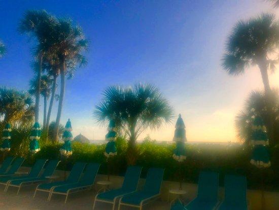 The Resort at Longboat Key Club - pool at sunset