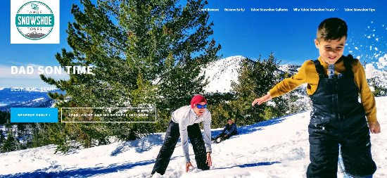 Incline Village, NV : Lake Tahoe's Most Scenic Wilderness Snow Shoe Adventures