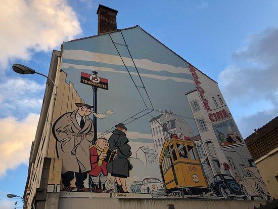 26e19f9da5 The Comic Strip Walk (1) - Picture of The Comic Strip Walk, Brussels ...