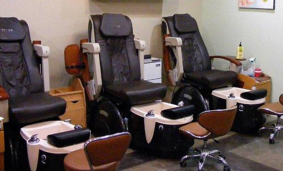 Longview, TX: Pedicure room
