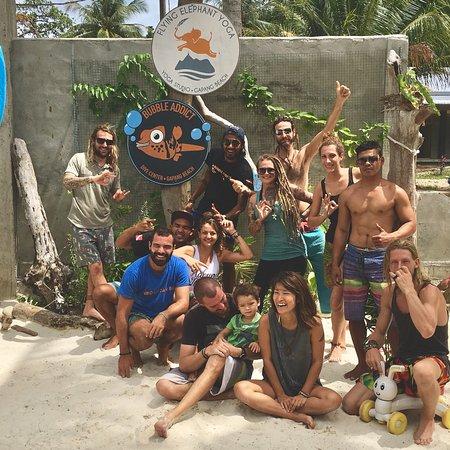 Pulau Weh, Indonesia: Bubble addict's