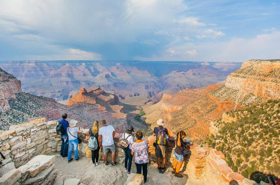 Grand Canyon South Rim Bus Tour with...
