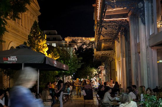 Bar-Tour durch Athen