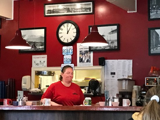 Sedro Woolley, WA: The counter