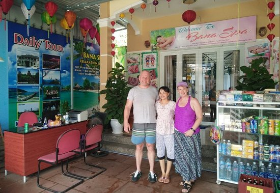 Bana Spa Hoi An Transfer Tod Megan