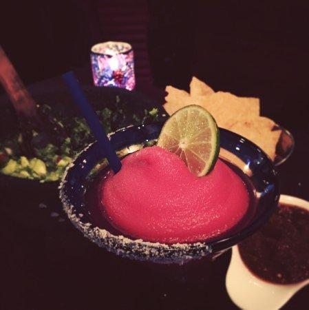 Rosa Mexicano - First Avenue: Frozen Pomegranate Margarita