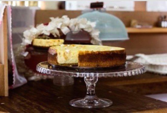 Kloof, Sudáfrica: Macadamia Nut Nougat Baked Cheesecake