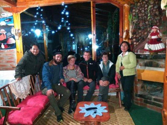 San Pablo Del Lago, Ecuador: Turistas extranjeros