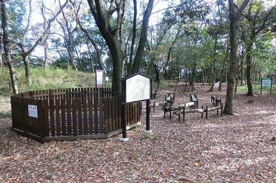 Yokkaichi, Japan: 本丸跡にのこる井戸