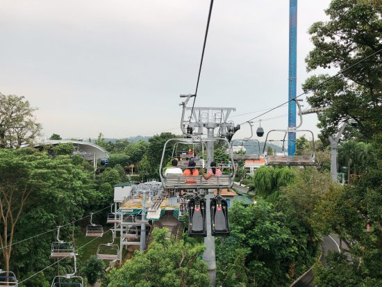 Skyline Luge Sentosa Chairlift Up