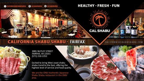 แฟร์แฟกซ์, เวอร์จิเนีย: California Shabu Shabu - Fairfax