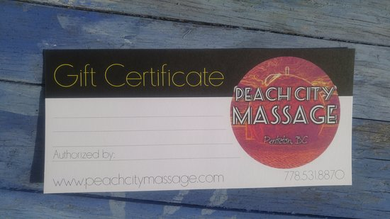 Penticton, Canadá: Gift Certificates