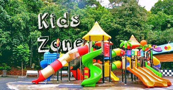 Vellamunda, Indien: Kids Zone at E3 Theme Parks