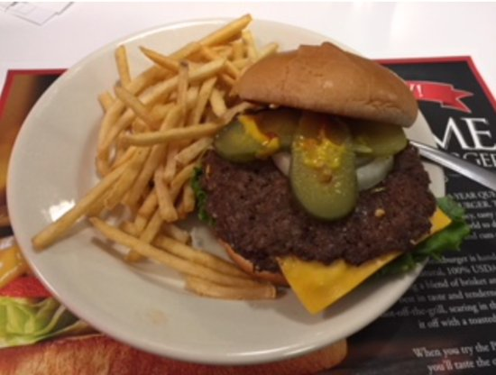 Galesburg, IL: The Original Double Cheese Steakburger