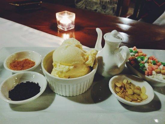 Dauis, Philippines: nice dessert !