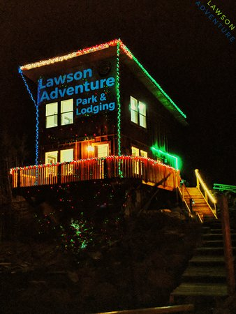 Lawson adventure park and lodging dumont co omd men for Lawson adventure cabins
