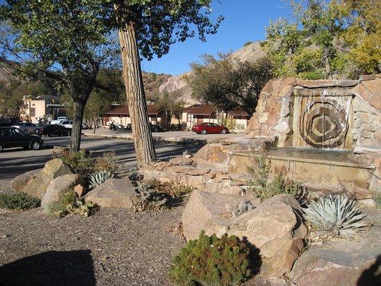 Ojo Caliente, NM: entrance