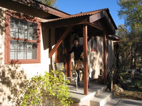 Ojo Caliente, Nuevo Mexico: what we call the little cabins