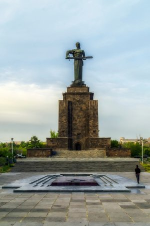 Victory Park and Statue of Mother Armenia: Statue of Mother Armenia