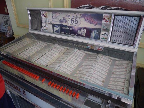 Kingman, AZ: old jukebox