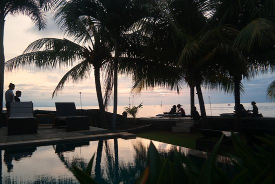 Pemaron, Indonesien: Pool view