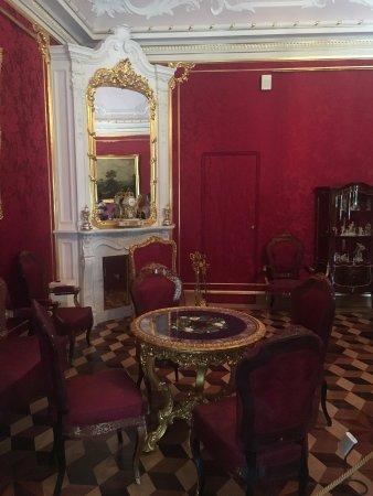 Lomonosov, Rusia: комната приема гостей