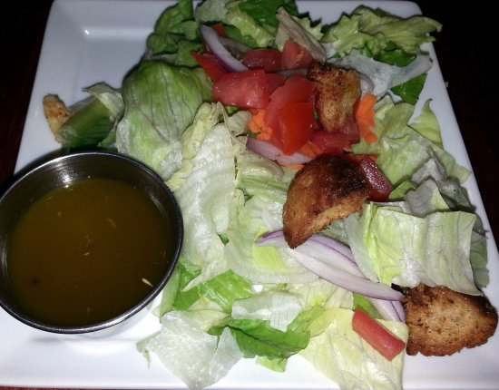 Mount Prospect, IL: dinner salad