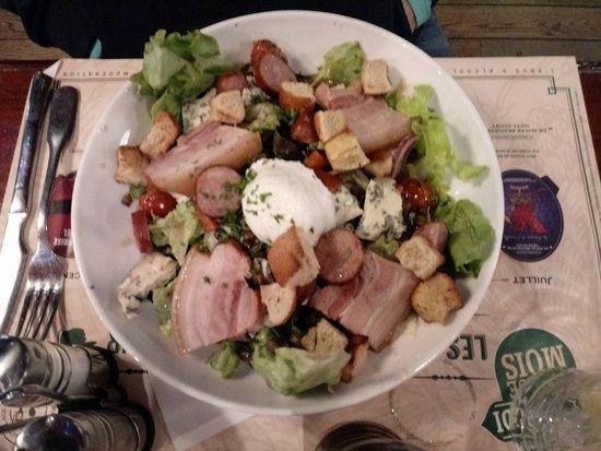 Roncq, Frankrike: salade