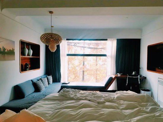URBN Boutique Shanghai: Comfortable bed, spacious room