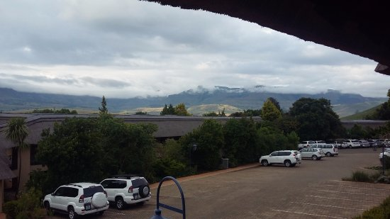 Winterton, South Africa: A breathe taking view from the room door