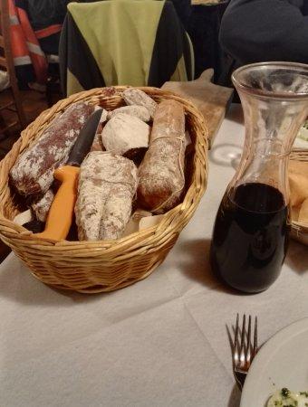 Morgex, إيطاليا: Antipasto della casa