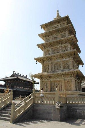 Datong, China: tempio