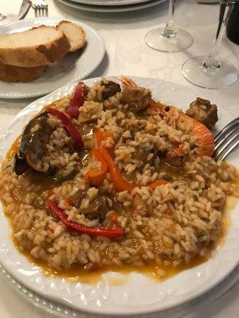 Monistrol de Calders, Ισπανία: Paella de arroz