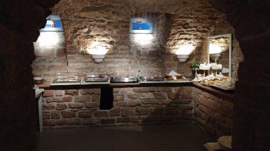 Hotel Villa Marstall: Frühstücksbuffet