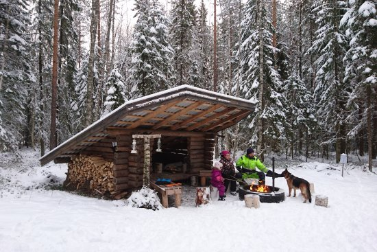 Seinäjoki, Suomi: Laavu