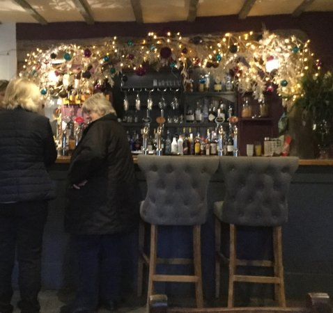Alderminster, UK: The bar