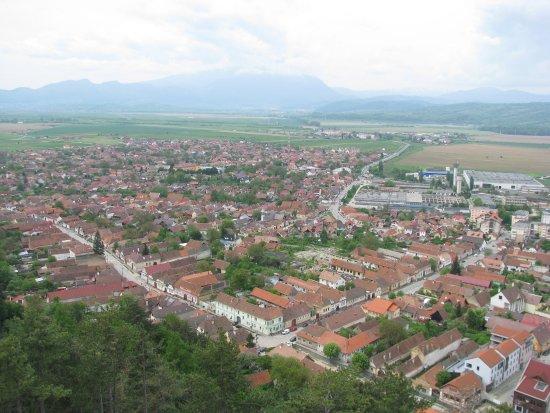 Rasnov, Romania: Widok z góry #2