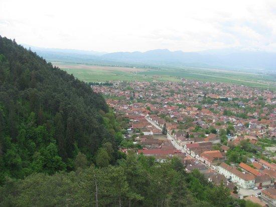 Rasnov, Romania: Widok z góry #3