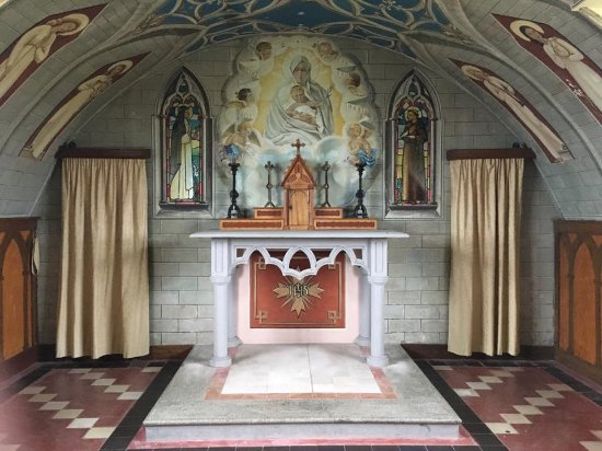 St. Mary's, UK: The Italian Chapel