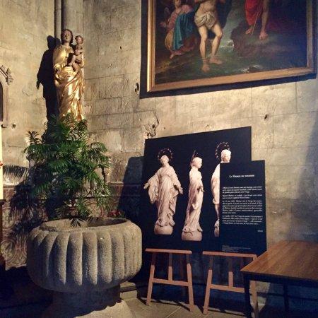 Eglise Notre-Dame : Ancienne chapelle du château des Comtes de La Marche