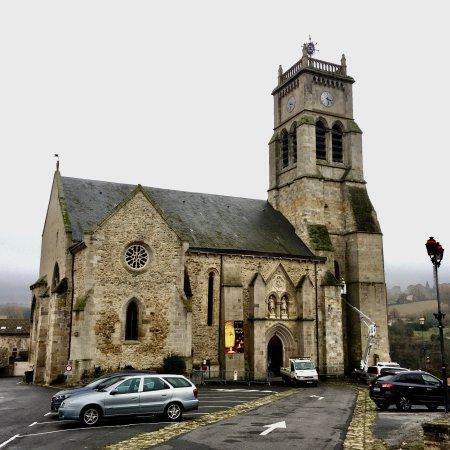 Bellac, France : Ancienne chapelle du château des Comtes de La Marche