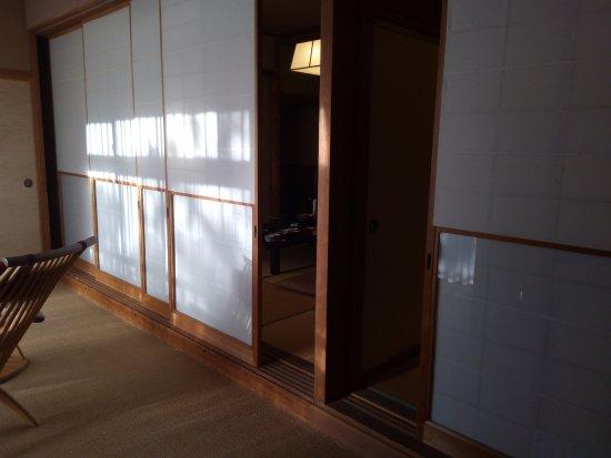 Shibata, Japan: 全部で4つも部屋があった