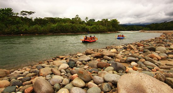 Tena, Ecuador: llegando al picnic