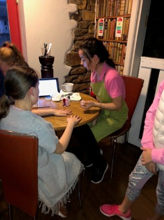 Clonmel, Irland: Kids party at my cafe