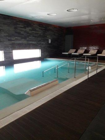 Monte Real, Portugal: piscina aquecida