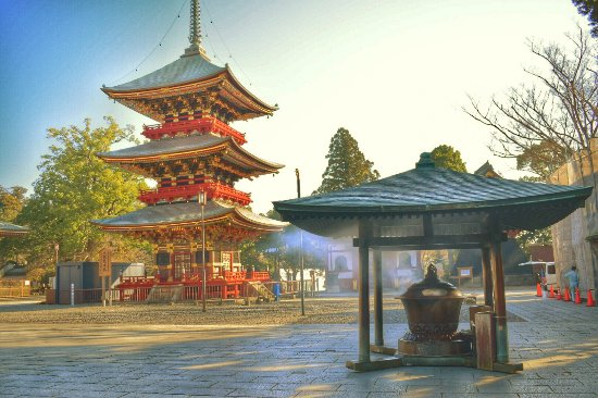 Narita, Japonya: Beautiful temple