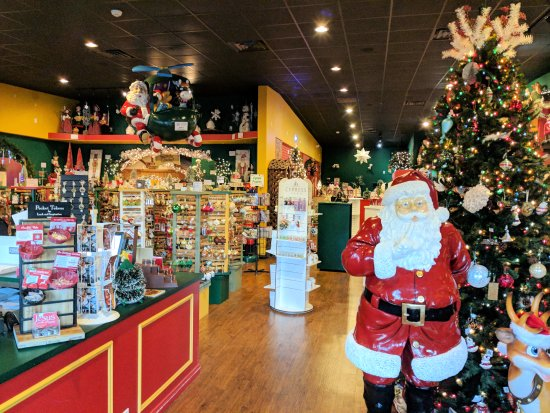 Santa Claus Christmas Store: Inside the Christmas store