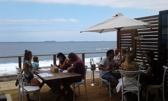 Ballito, Sør-Afrika: Lovely sea view. Open to the sea breeze and so relaxing
